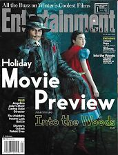 Entertainment Weekly magazine Into the Woods Johnny Depp Holiday movie preview