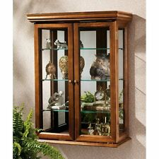 BN2430 - Country Tuscan Style Hardwood Wall Curio