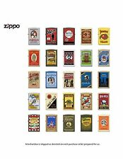 Zippo Lighters Tobacco Tin FULL SET Tobacco Tin Series # 2 Limited Edition RARE