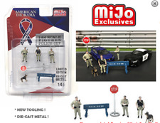 American Diorama Sheriff Police Figures - MiJo Exclusives 1/64