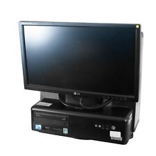 All-In-1 Desktop PC w/ LG Monitor Intel Core 2 Duo E7500 2.93GHz 4GB 150GB HDD