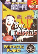 THE DAY OF THE TRIFFIDS + FANTASTIC PLANET 2 SCI FI MOVIES SEALED DVD
