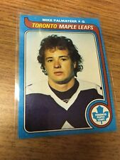 TOPPS HOCKEY 1979-80 MIKE PALMATEER CARD 197 TORONTO MAPLE LEAFS EXCELLENT 697343dbc2e6