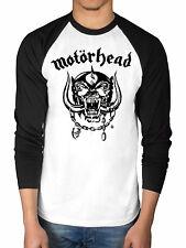 Official Motorhead England Raglan Baseball T-Shirt 2 Tone Bad Magic Ace Spades