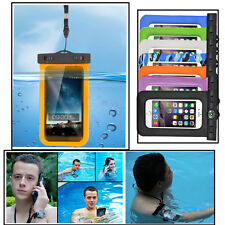 Waterproof Pouch Case Cover Universal For iPhone & Samsung Galaxy with Compass