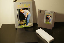 Jack Nicklaus' Golf (NES, 1990) *Tested / With Sleeve and Box