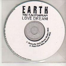 (AL492) Earth The Californian Love Dream, Butter- DJ CD