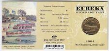 2004 Australia 150th Eureka Stockade $1 Coin - 'B' Mintmark