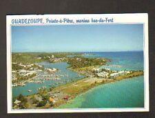 POINTE-A-PITRE (GUADELOUPE) MARINA DU BAS-FORT en vue aérienne en 1997