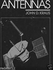 Antennas - Antenna Bible by John D Kraus in Easy to Read .pdf  Format NEW