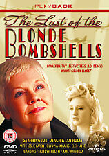 LAST OF THE BLONDE BOMBSHELLS GENUINE R2 DVD JUDI DENCH CLEO LAINE JOAN SIMS VGC