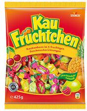 2 x Storck Kau Fruechtchen Candies = 850grams  **Made in Germany** BEST PRICE