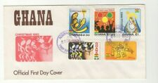1983 GHANA - CHRISTMAS FDC FROM COLLECTION E24