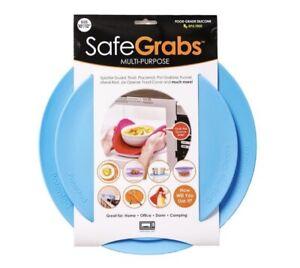 Safe Grabs: Multi-Purpose Silicone Original Microwave Mat as Seen on Tank