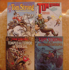 Lote de 4 Comics, Alan Moore, Tom Strong, números 7, 8, 9 y 10, World Comics