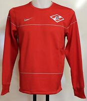 SPARTAK MOSCOW PLAYER ISSUE RED TRAINING SWEATSHIRT BY NIKE SIZE XXL BRAND NEW