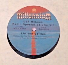Radio Show: RCA SPECIAL RADIO SERIES: DON McLEAN 1982