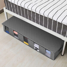 Home Under Bed Shoe Storage Organizer Holder Container Closet Non-woven Fabric