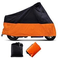 Wasserdicht Motorradabdeckung Motorrad Garage Cover UV-Schutz XXXL 295x110x140