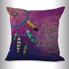 US SELLER- American native dreamcatcher cushion cover decorative pillow