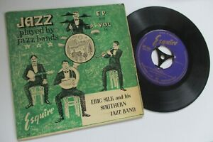 ERIC SILK & HIS SOUTHERN JAZZ BAND   SELF-TITLED  1955 ESQUIRE EP PICTURE COVER