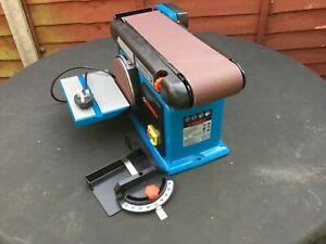 Ferrex Bench Belt and Disc Sander 240 volt