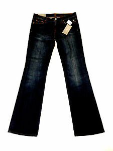7 FOR ALL MANKIND - BOOTCUT JEANS - NEWYORK DARK - SIZE 30 -