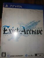 Exist Archive the other Side of the Sky - Sony Ps Vita - Ntsc-J Jap
