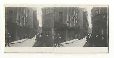Morlaix Finistère Photo amateur stéréo Vintage argentique 1932