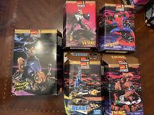 Marvel Toy Biz Model Kits Venom, Ghost Rider, Spider-Man, Beast, Thing