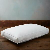 1/2/3/4 X 100% Cotton Luxury Goose Duck Feather & Down Box Pillow Extra Filled