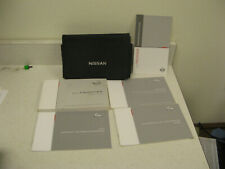 2013 13 NISSAN FRONTIER OWNER'S MANUAL SET BOOK - FAST FREE SHIPPING - OM53