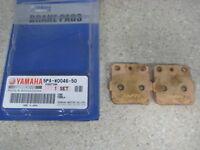 NOS OEM Yamaha Brake Pad Kit (2) 2002-17 YZ85 5PA-W0046-50