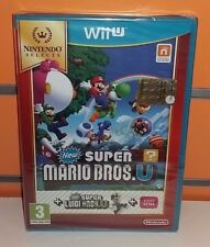 New Super Mario Bros U + New Super Luigi U Selects WII U NUOVO ITA