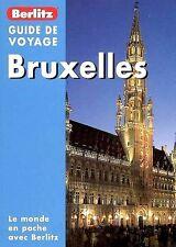BRUXELLES *** LE MONDE EN POCHE avec BERLITZ *** INDISPONIBLE en LIBRAIRIE