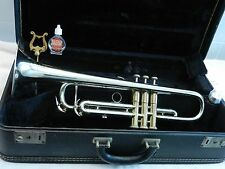 1963 Vintage HOLTON GALAXY USA Trumpet / Smooth Valves / Plays Great / Nice Horn