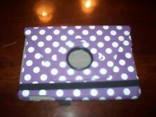 """PURPLE/WHITE PHONE/TABLET CASE PROTECTOR 9"""""""