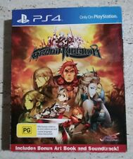 Playstation 4, GRAND KINGDOM, Game, Art book & Soundtrack