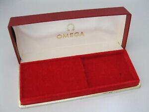 SUPERB Genuine Vintage 1960's Omega Presentation Watch Box, Very Good Condition