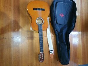 Suzuki Acoustic Classic Guitar; Model # SG-38-NL  with Soft Carry Case