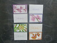 2007 FIJI SET 4 ORCHIDS MINT STAMPS