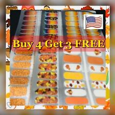 Color Nail Polish Strips Buy 4 Get 3 FREE U.S Seller Ombre Fall Holiday Solid