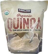 2 Bag Kirkland Signature Organic Quinoa - 4.5 lb bag Total 9 lb Free Shipping