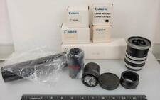 Canon Lens Mount Converter & Extension Tube Lot Vintage g25
