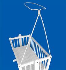 Holder for Moses Basket Swinging Crib Drape Canopy Mosquito Rod Bar Clamp Pole