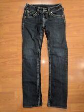 TRUE RELIGION BRAND Blue Jeans High Hi-Rise Boot Cut Flap Pocket - size 28