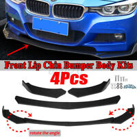 Front Bumper Lip Spoiler Chin Splitter For BMW F30 F80 M3 F82 M4 320i 325i 330i