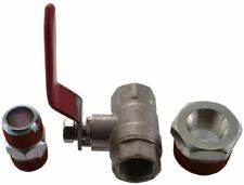"Ball Valve Compressor Air Line Emergency Shut-Off Fittings Kit 3/8"" Npt Adapter"