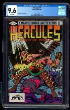 HERCULES 1 CGC 9.6 9/82 BOB LAYTON STORY,COVER & ART WHITE PAGES