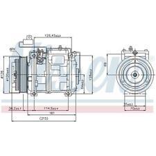Original Nissens 89132 Kompressor für Klimaanlage für MERCEDES-BENZ